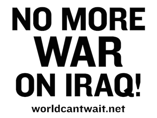 No More War in Iraq