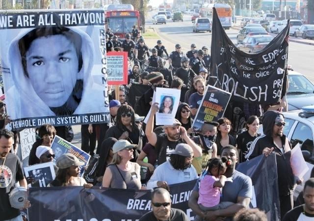 Rally for Trayvon photo