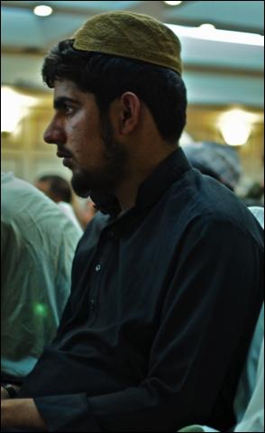 Tariq Aziz aged 16