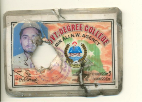 Sanaullah Jan's ID