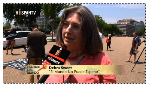 Debra Sweet, HispanTV