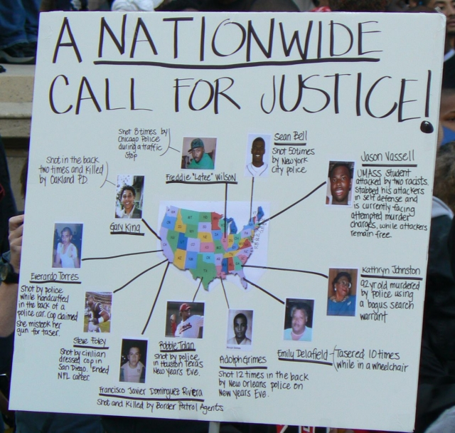 Nationwide Call for Justice