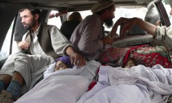 Afghan civilian victims