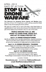 april drone actions flier