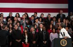 President Obama Interrupted by Former UC Berkeley Student Senator at Immigration Speech in San Francisco