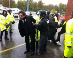 Cornel West Arrested at Ferguson Protest October 13, 2014