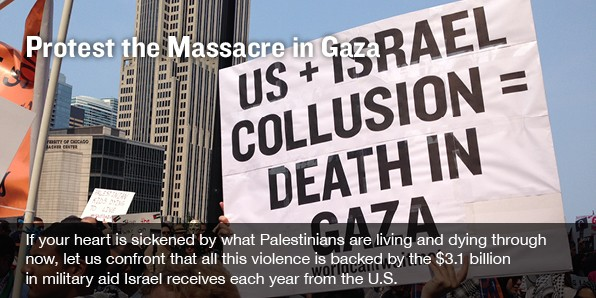 US + Israel Collusion = Death in Gaza