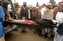 Thousands of people have been killed by the US in Afghanistan
