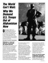 Afghanistan Fact Sheet