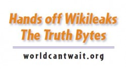 Wikileaks Sticker White
