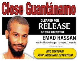 Emad Hassan cleared for release