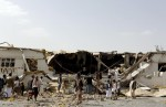 yemen-bombed-factory