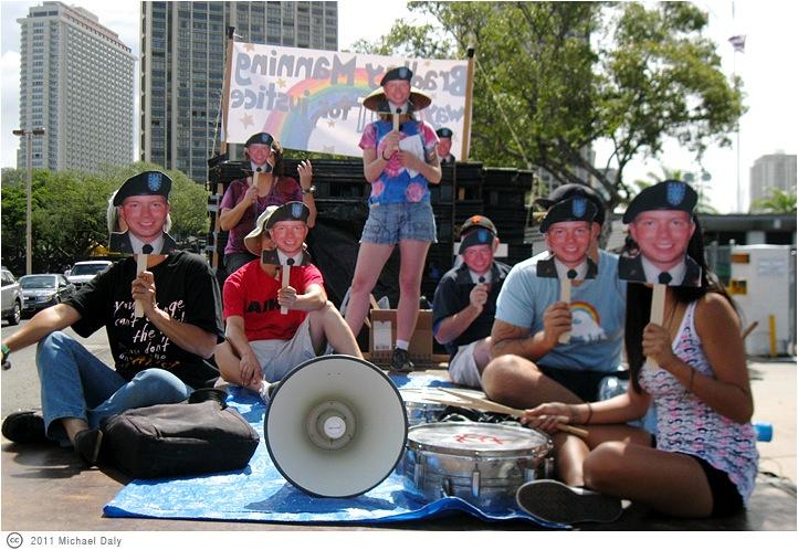 Free Bradley Manning at Hawaii Pride