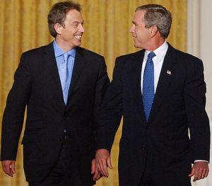 George W. Bush and Tony Blair