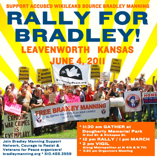 Raise your voice for Bradley Manning