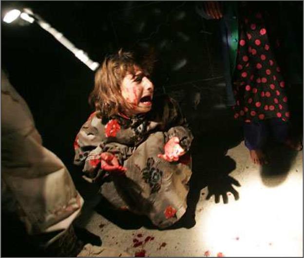 Traumatized Iraqi Child