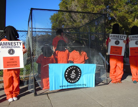 Albany High Students Protest Guantanamo