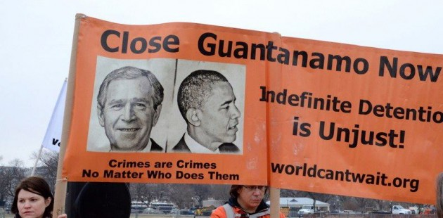 Protesing Guantanamo 2013, Photo by Baltimore Post-Examiner
